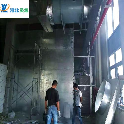 防爆墙厂家产品由纤维水泥板和穿了孔的镀上锌的钢板复合而制成